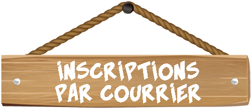 Inscriptions par courrier